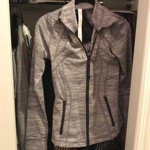 Lululemon workout jacket in grey. never worn